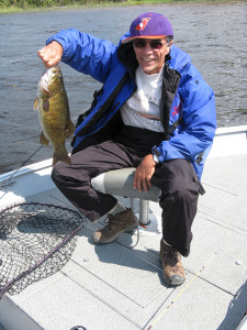 Smallmouth Bass fishing in Sioux Lookout