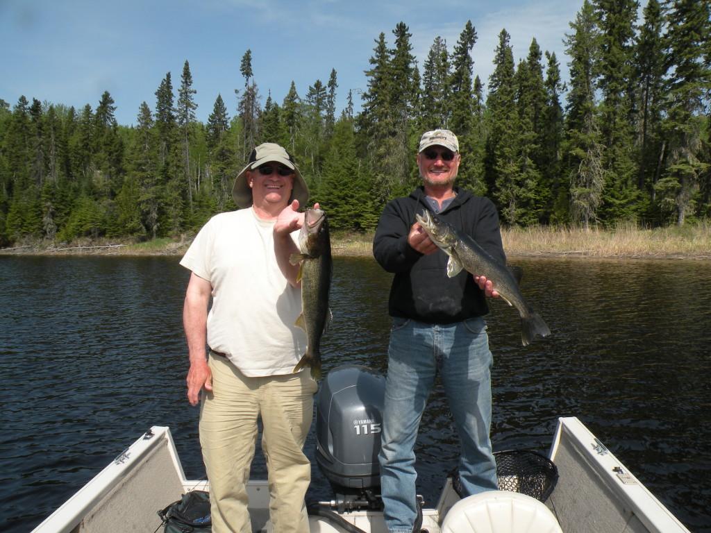 Excellent Walleye fishing in Northwestern Ontario
