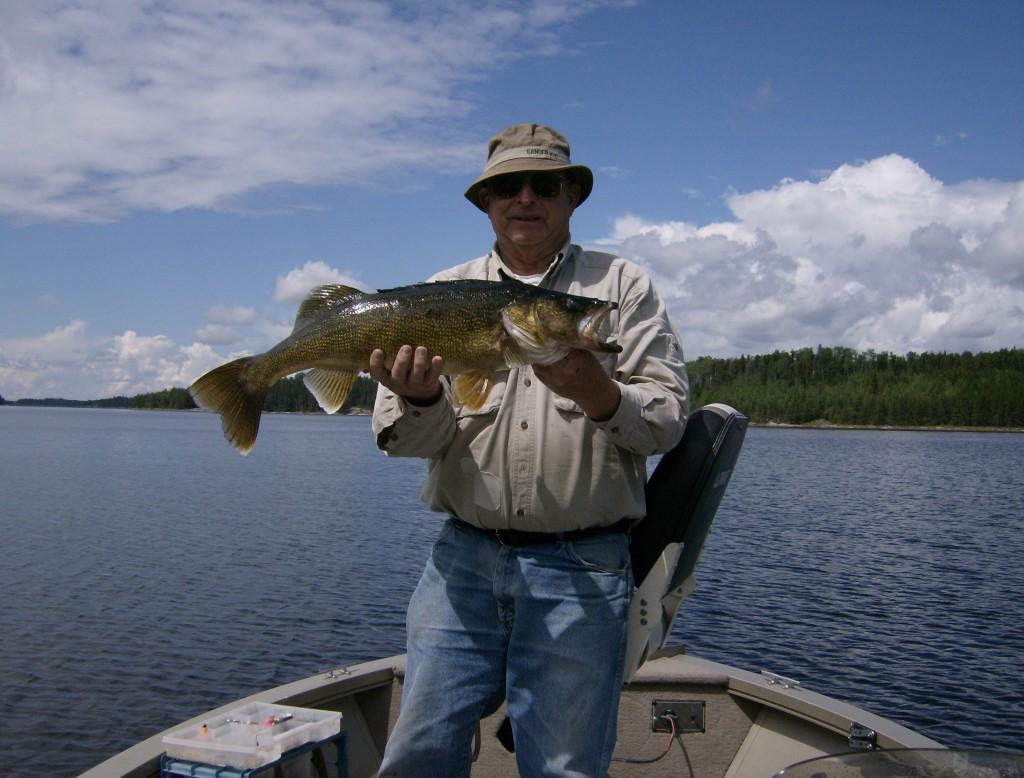 Trophy Walleye Fishing in Sioux Lookout