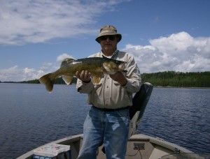 Trophy Walleye Fishing in Sioux Lookout