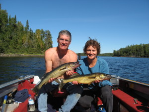 Fishing Northwestern Ontario for Walleye