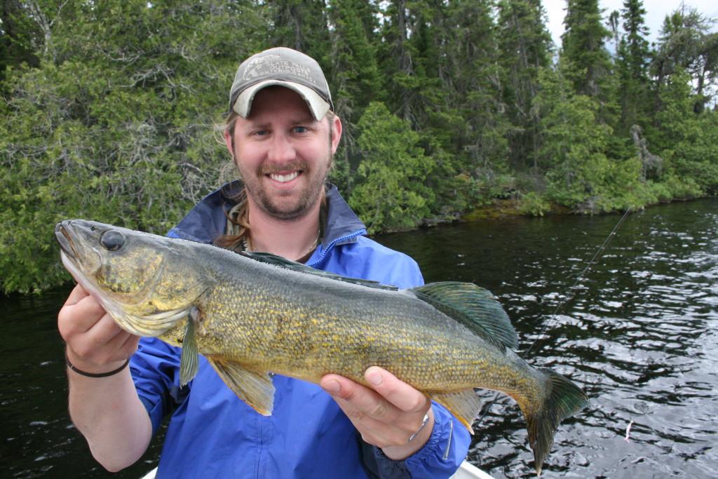 Northwestern Ontario Walleye Fishing