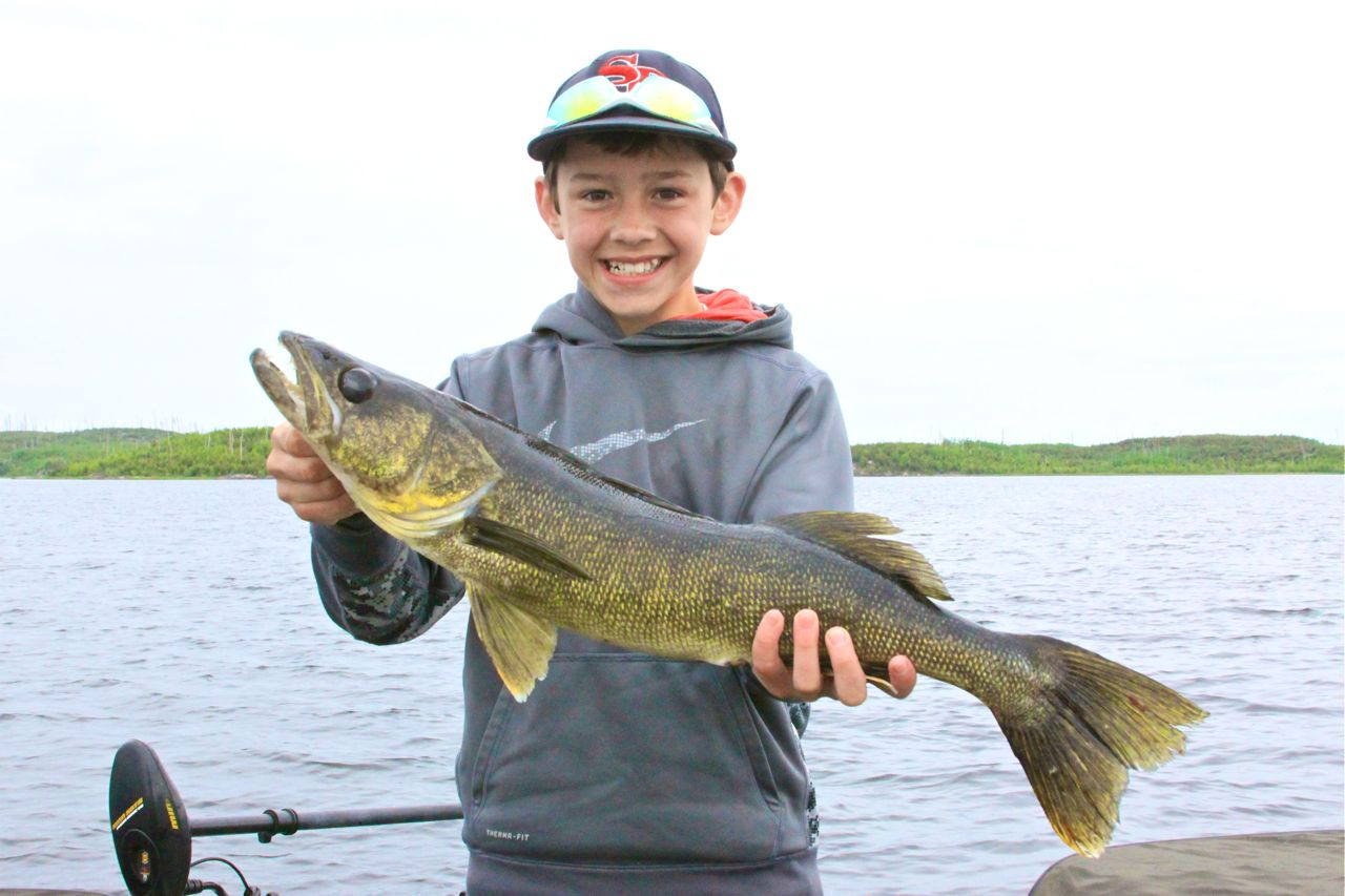 Walleye Fishing in Northwestern Ontario