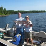 Pike fishing in Northwestern Ontario
