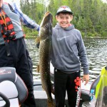 Family Fishing in Northwestern Ontario